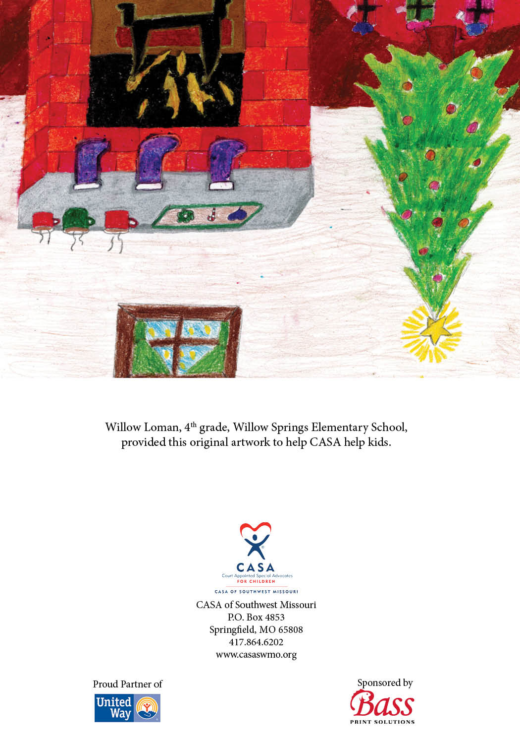 11 Fireplace - Willow Loman - 4th Grade - Willow Springs Elementary