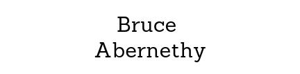 Bruce Abernethy