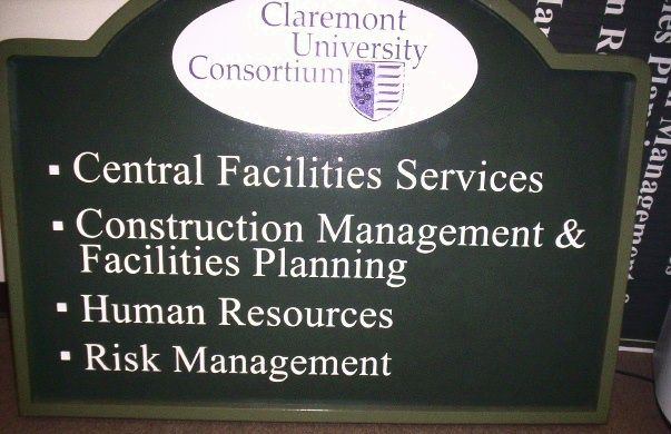 FA15540 - Claremont University Directory Sign