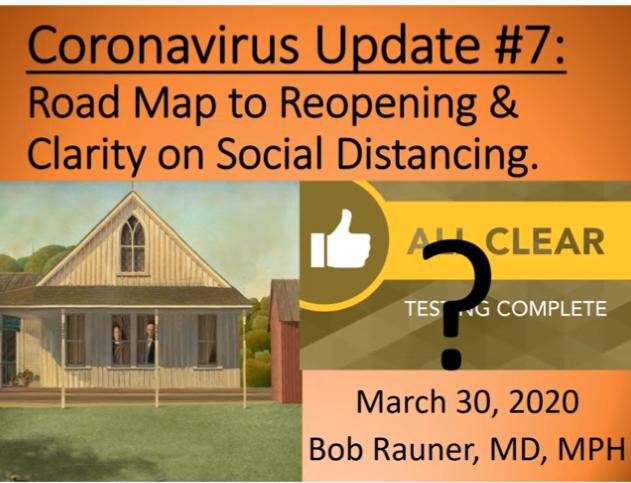 March 30, 2020 Update