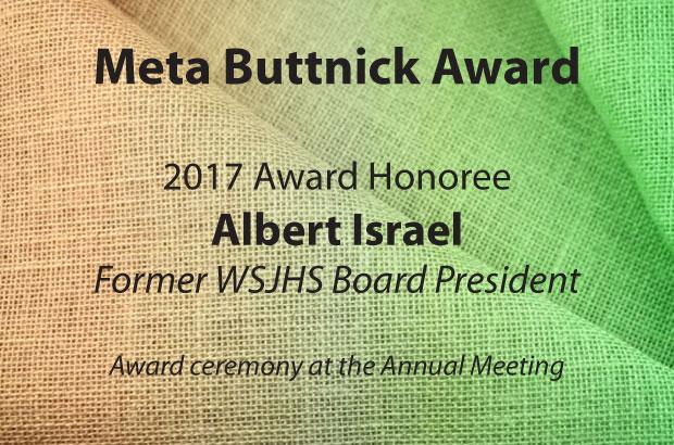 Meta Buttnick Award 2017