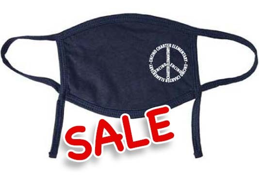 PEACE - Youth Mask (Navy)