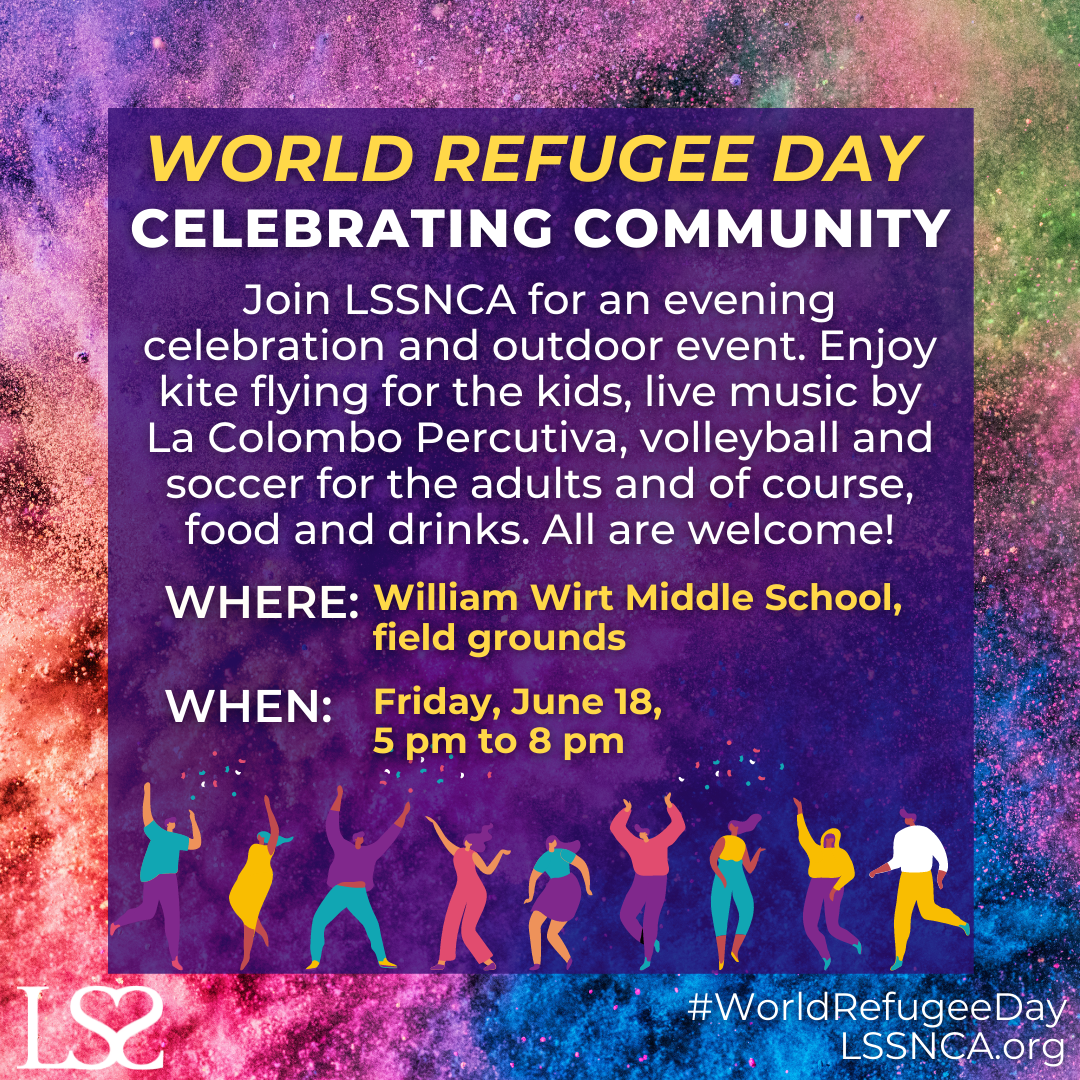 CELEBRATE WORLD REFUGEE DAY WITH US!