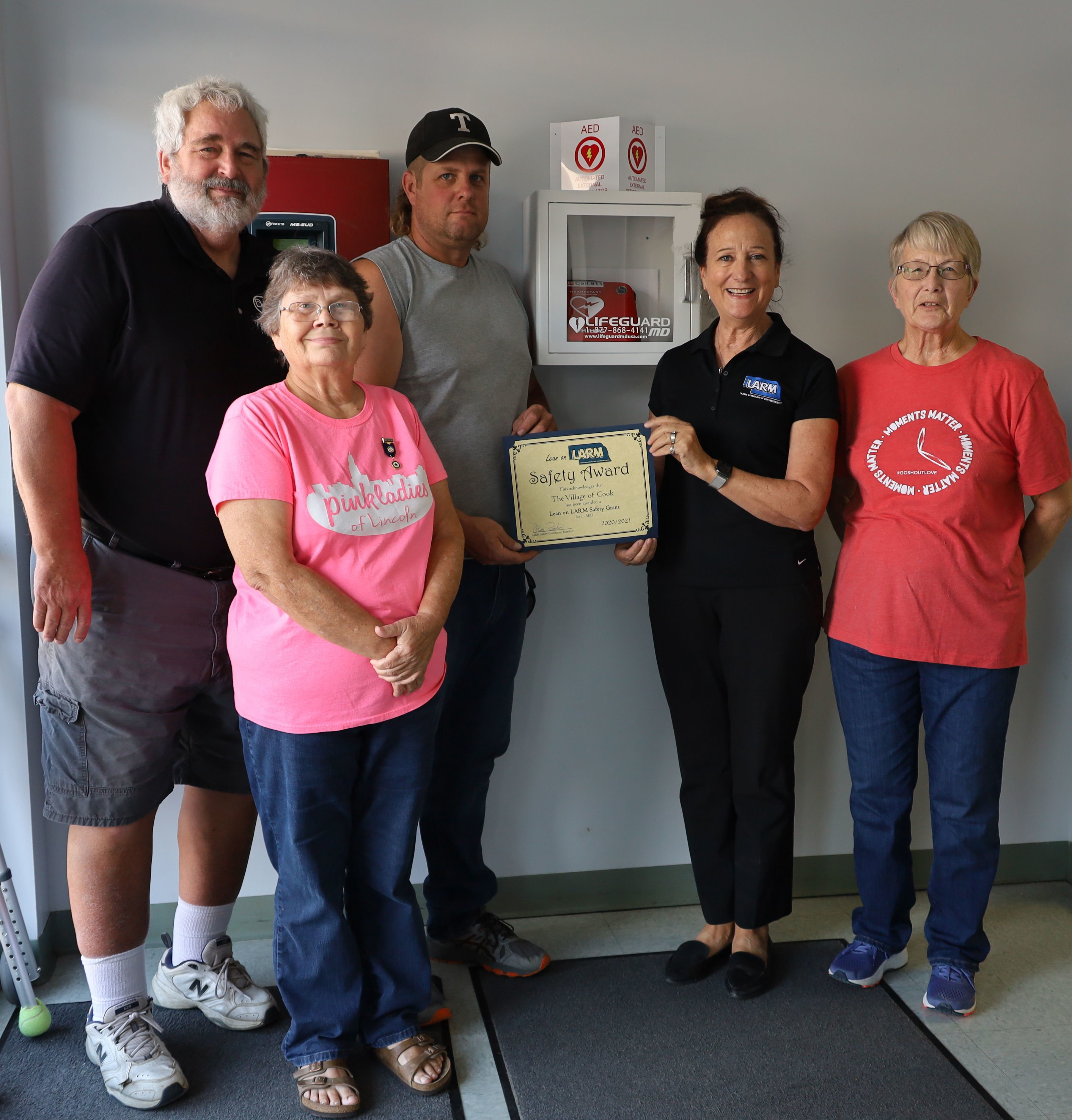 Village of Cook uses funds to purchase AED
