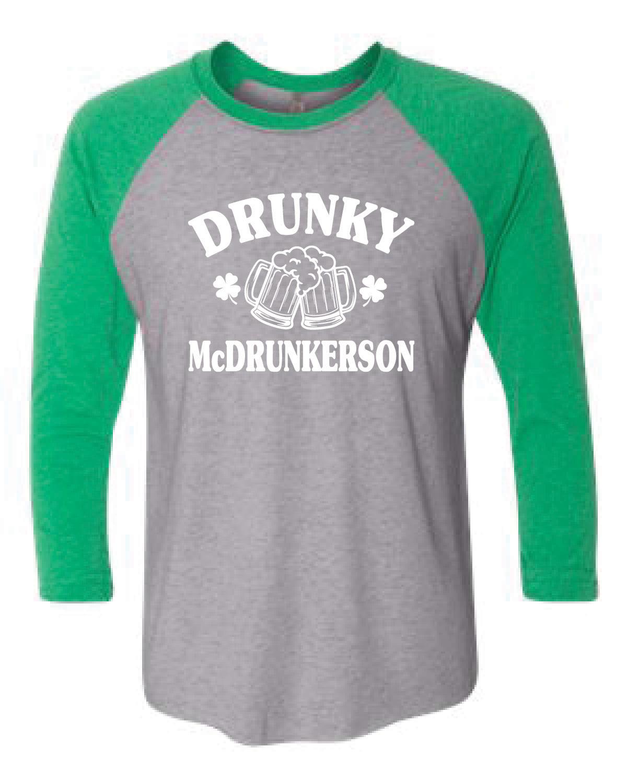 Baseball T-Shirt (McDRUNKERSON)