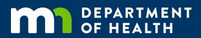MN Deptartment of Health