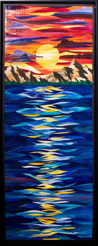"""Lori Orlowski - """"Sunset Reflection"""""""