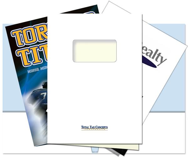 Three Presentation Folders Ilustrated