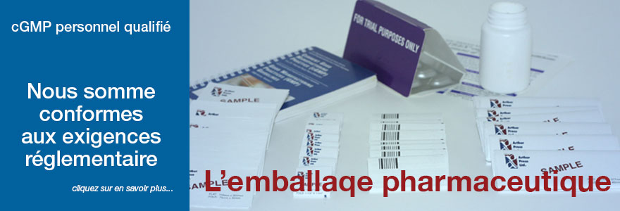 L'emballaqe pharmaceutique