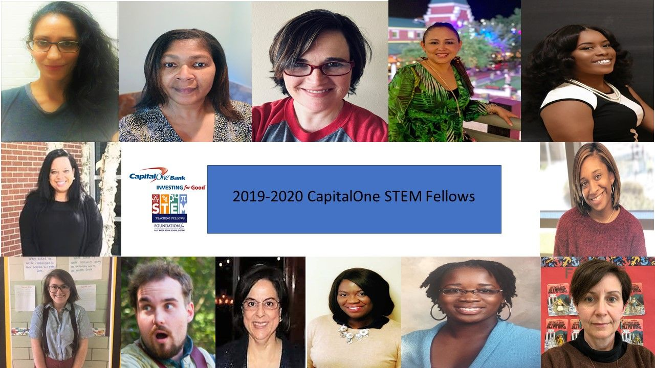 2019-2020 CapitalOne STEM Teaching Fellows
