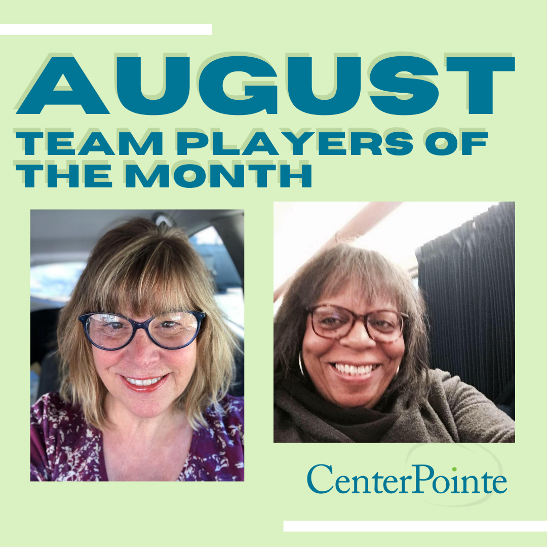 August 2020 Team Players of the Month