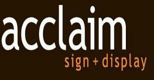 Acclaim Sign and Display