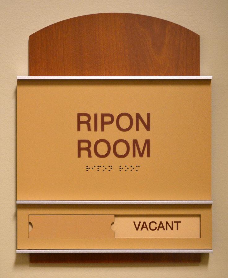 ADA Signage - Ripon room