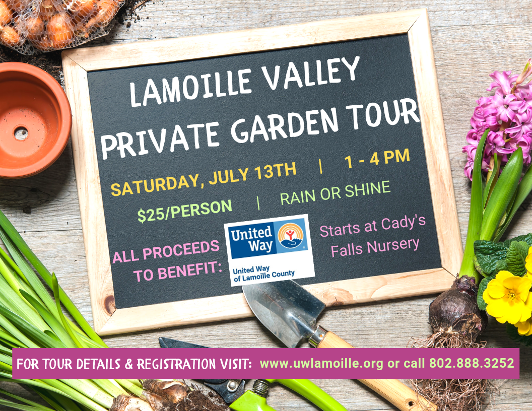 Lamoille Valley Garden Tour