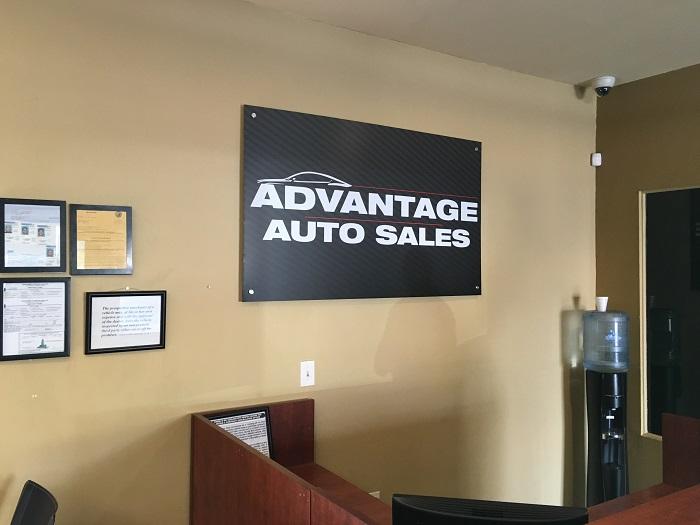 Black Aluminum Lobby Sign