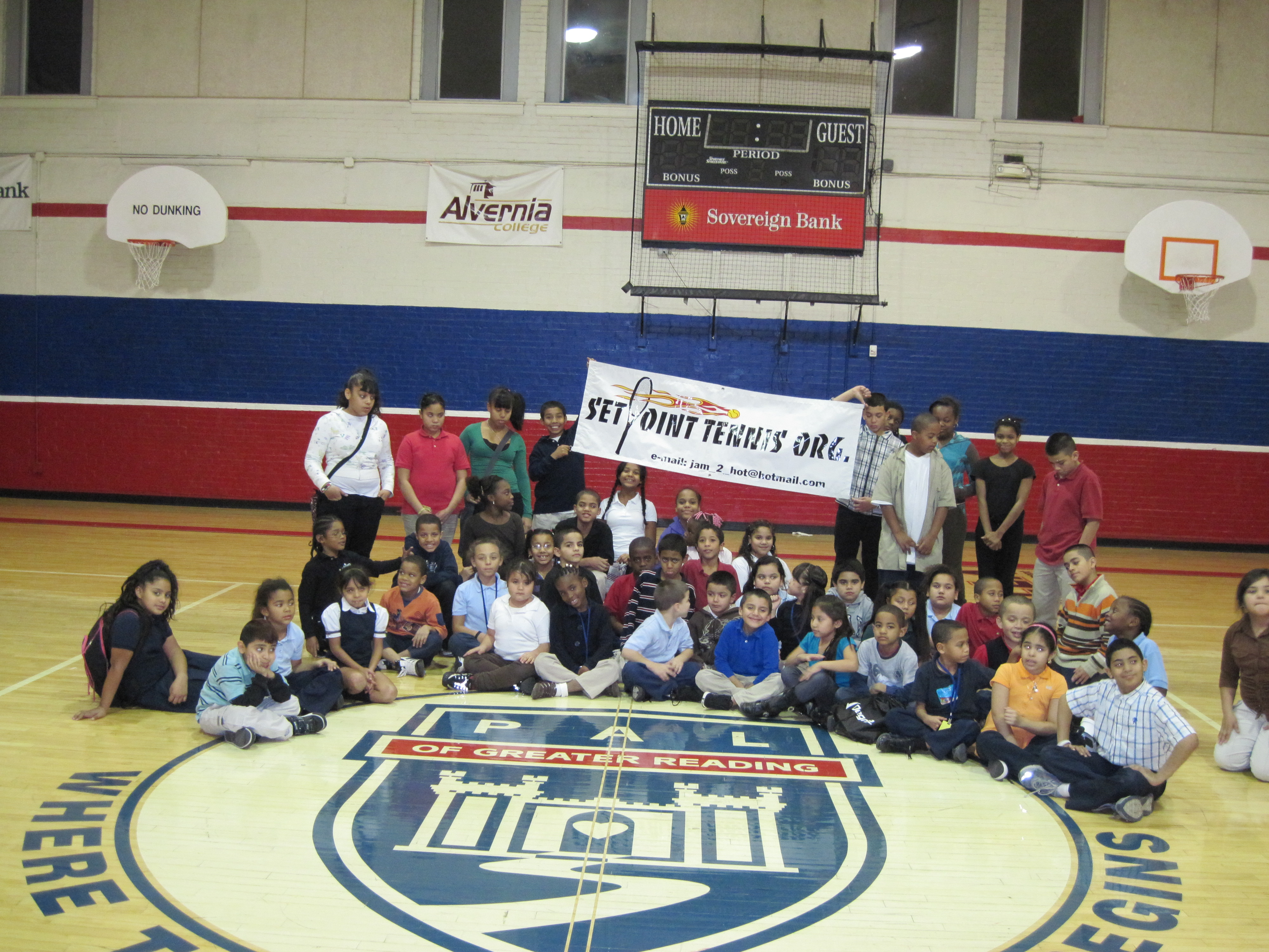 Youth at the Olivet Boys & Girls Club in the City of Reading Pa.