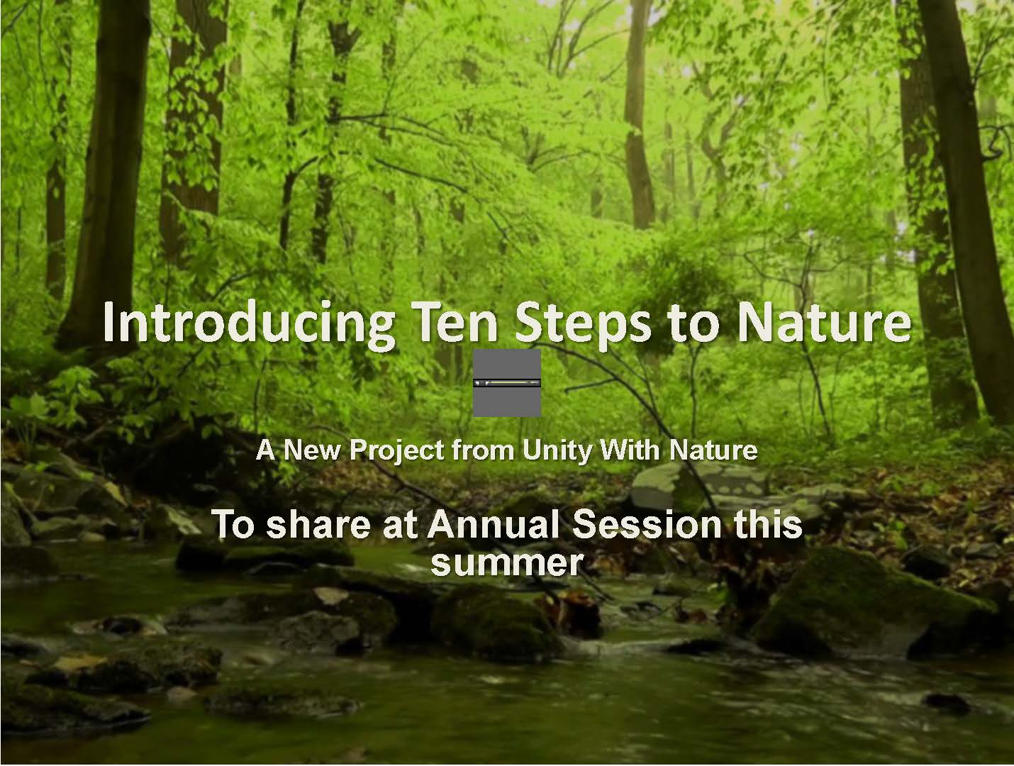Ten Steps to Nature Video Project