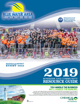 2019 - Blue Water Area Chamber Business & Community Resource Guide