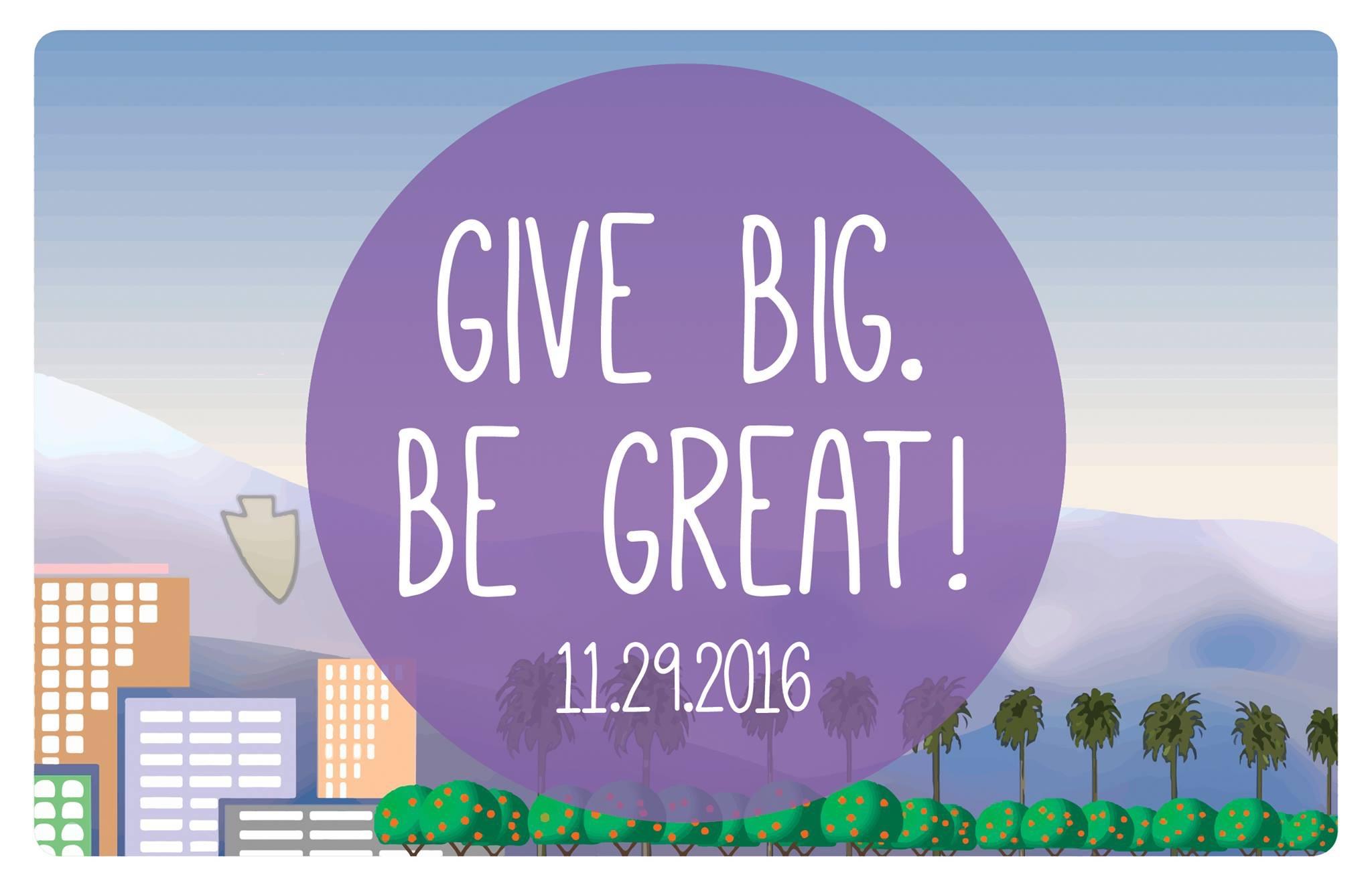 Give Big! on Giving Tuesday