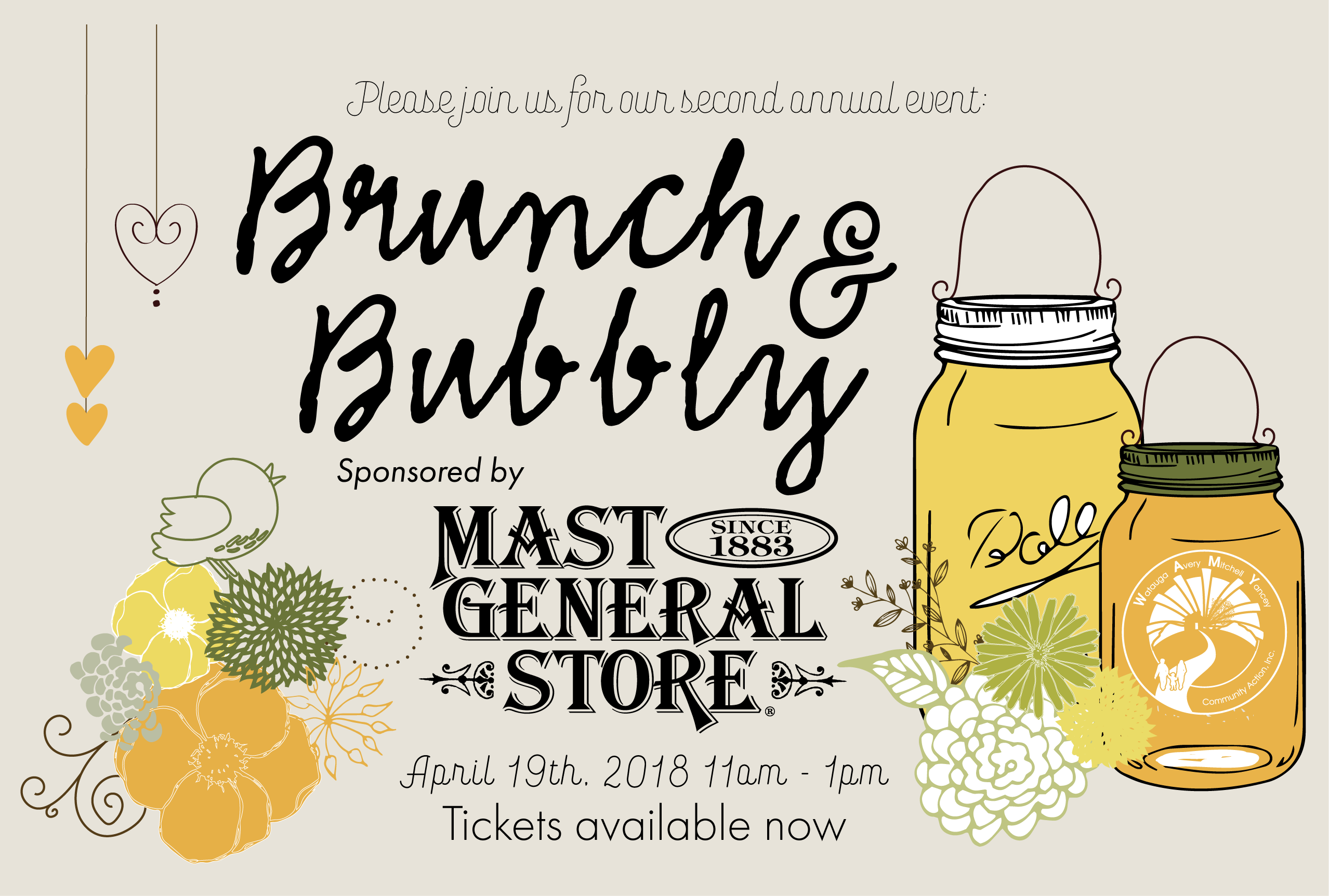 2nd Annual Brunch & Bubbly