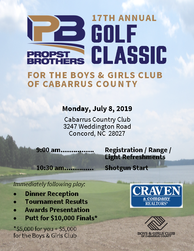 17th Annual Propst Brothers Golf Classic