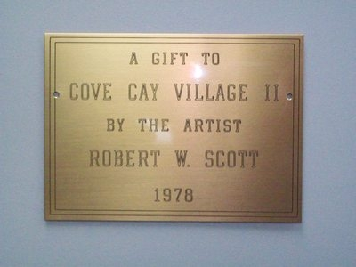 Engraved Wall Plaque