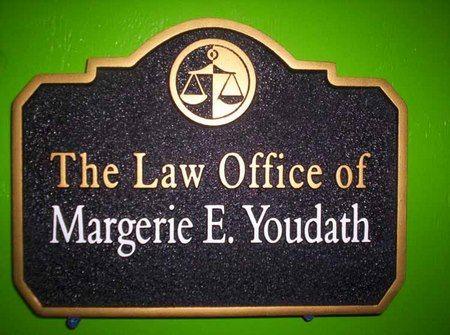 A10110 - Sandblasted HDU Attorney Sign