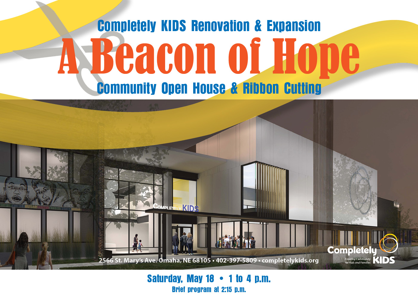 Join Us for Our Open House & Ribbon Cutting