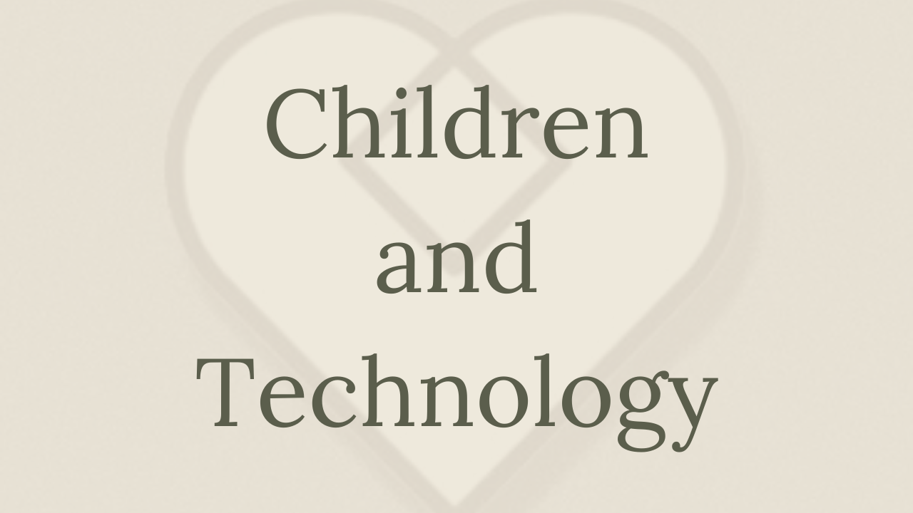 Mental Health Minute: Children and Technology