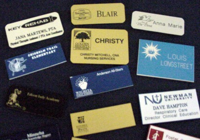 Name Tags - Engraved