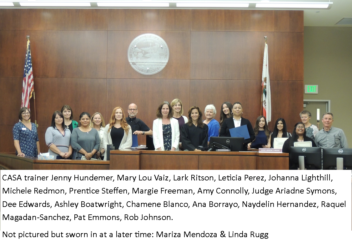 CASA Welcomes New Advocates for Children in Foster Care