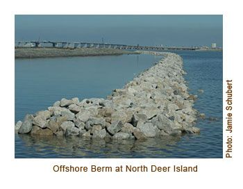 Offshore Berm at North Deer Island