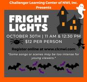 Fright Lights Laser Show, Oct. 30