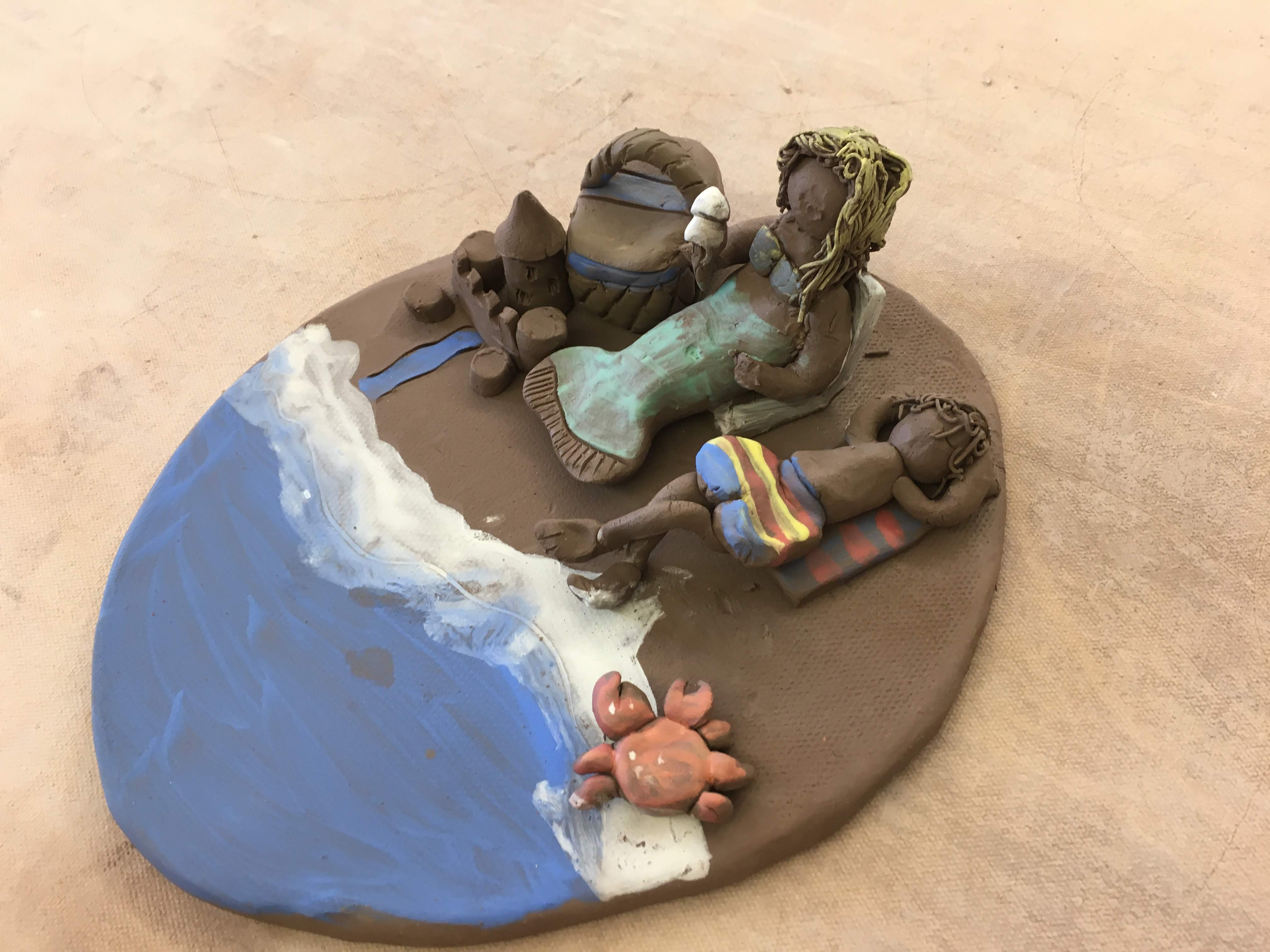 """Beach Scene"" Clay Workshop"