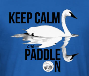 """Keep Calm and Paddle On"" Exclusive TTSS shirts"