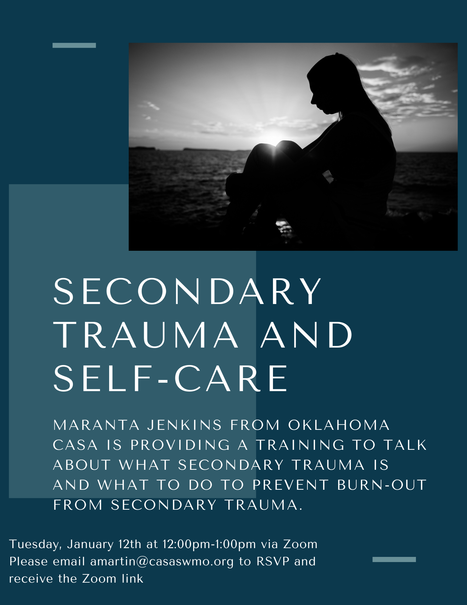 Secondary Trauma and Self-Care