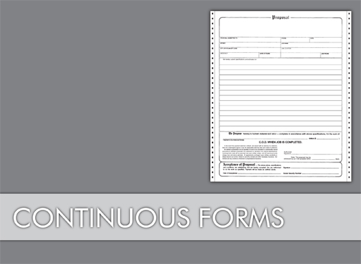 Continuous Forms