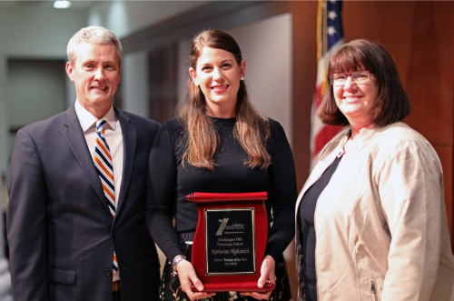 Katherine Highsmith named CCS Teacher of the Year 2019-20