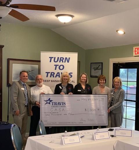 Travis Credit Union Donation
