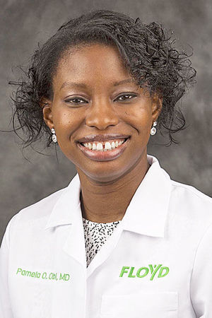 DR. PAMELA O. OBI, M.D. '12, JOINS FLOYD PRIMARY CARE IN GEORGIA