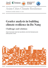 Gender analysis in building climate resilience in Da Nang: Challenges and Solutions