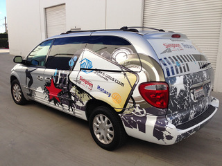 One stop guide to vehicle wraps in Orange County