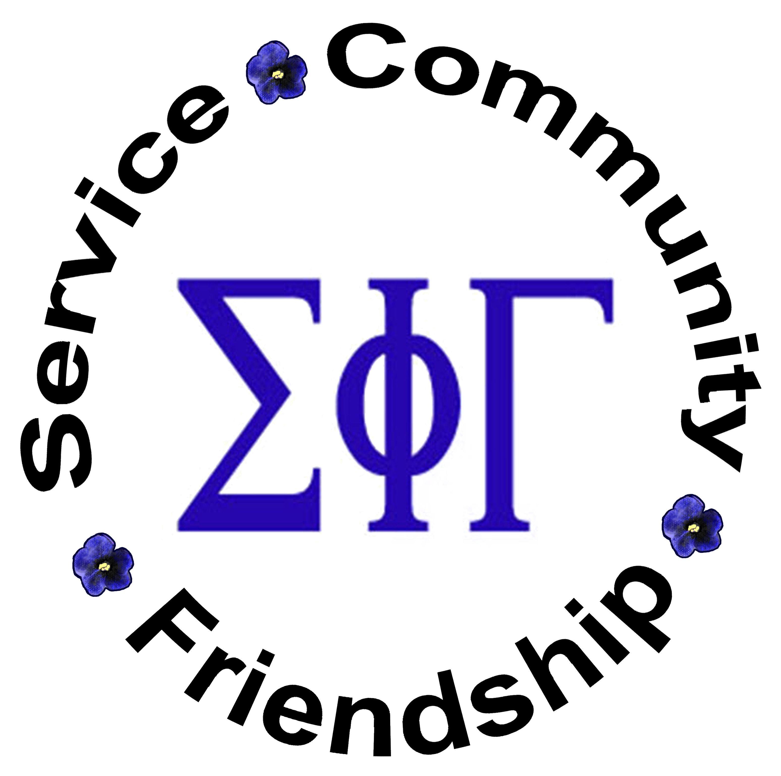 Sigma Phi Gamma Sorority Logo 5-19-21