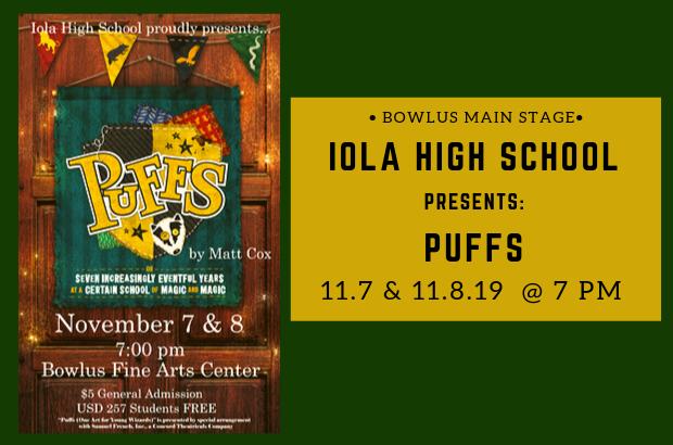 Iola High School presents: Puffs