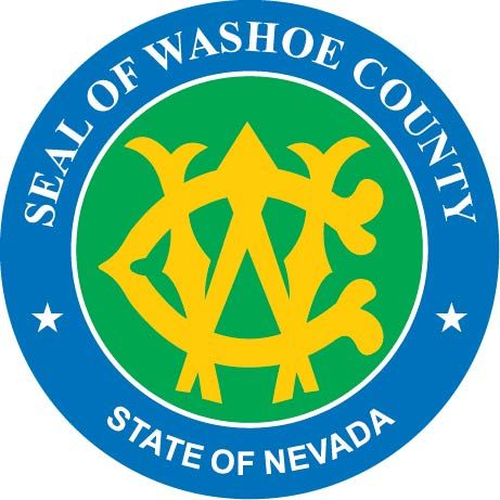 CP-1720 -  Plaque of the Seal of Washoe County,Nevada,  Giclee