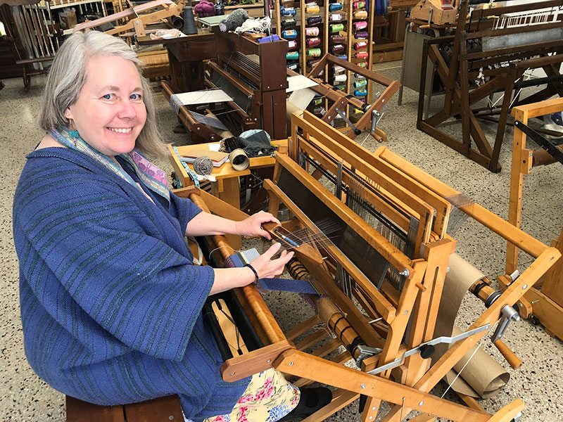 Victoria Hanna, owner of Torri's Tangles to Treasures in Fergus Falls, Minn.