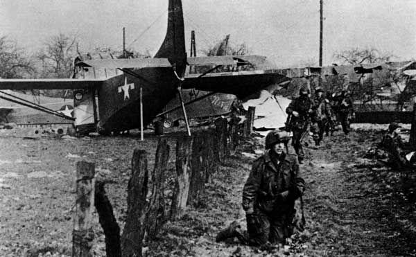 Operation Varsity Landing Zone, March, 1945
