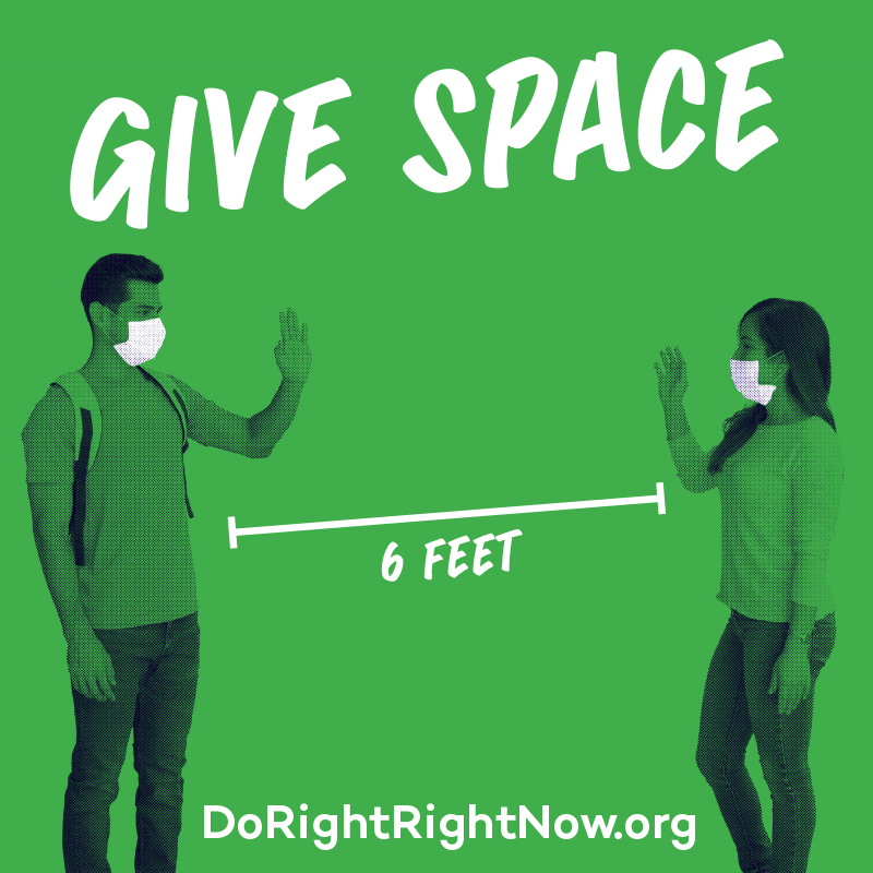 Facebook / Instagram: Give Space