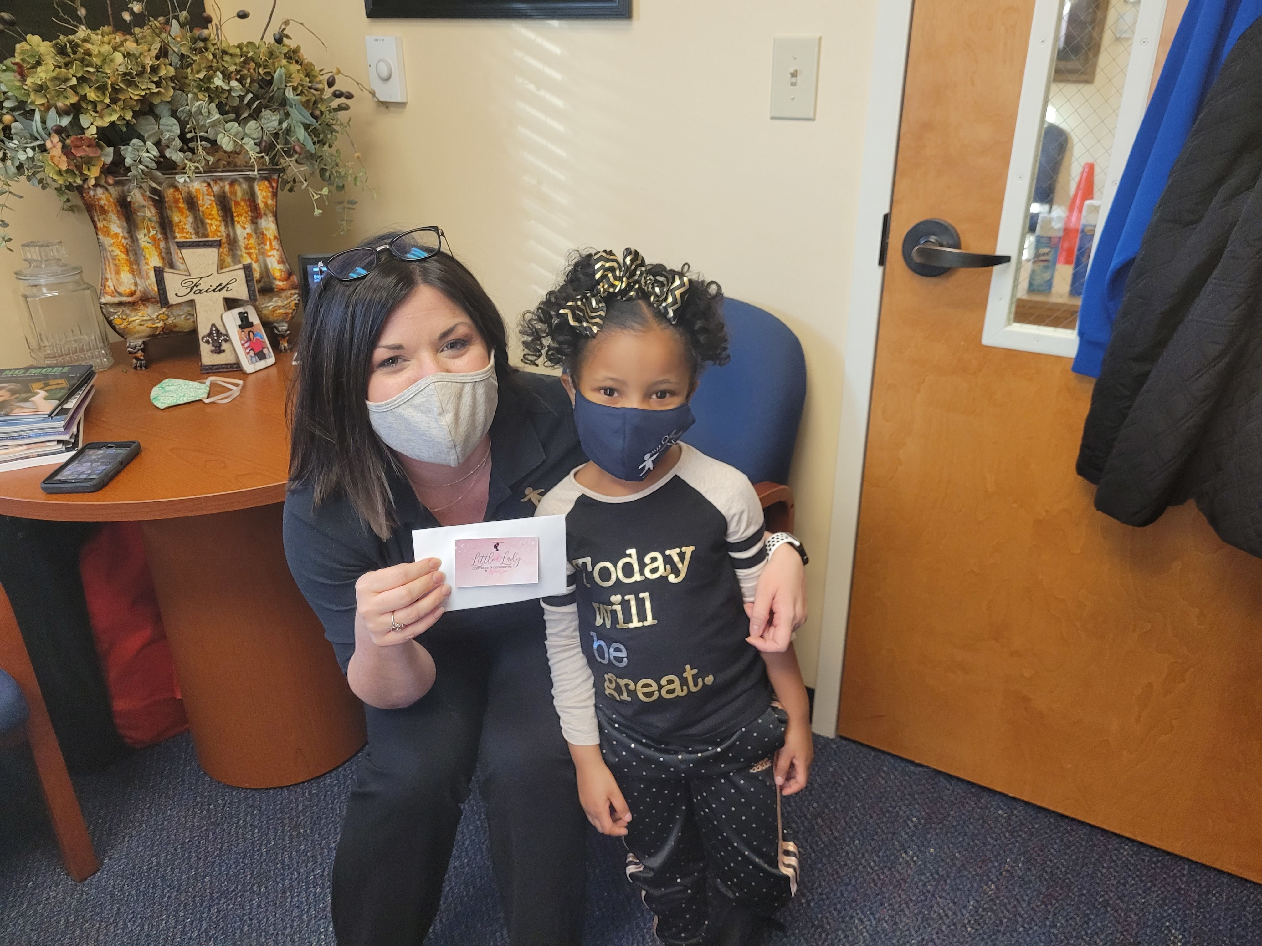 MOSD Receives Donation from Former Student