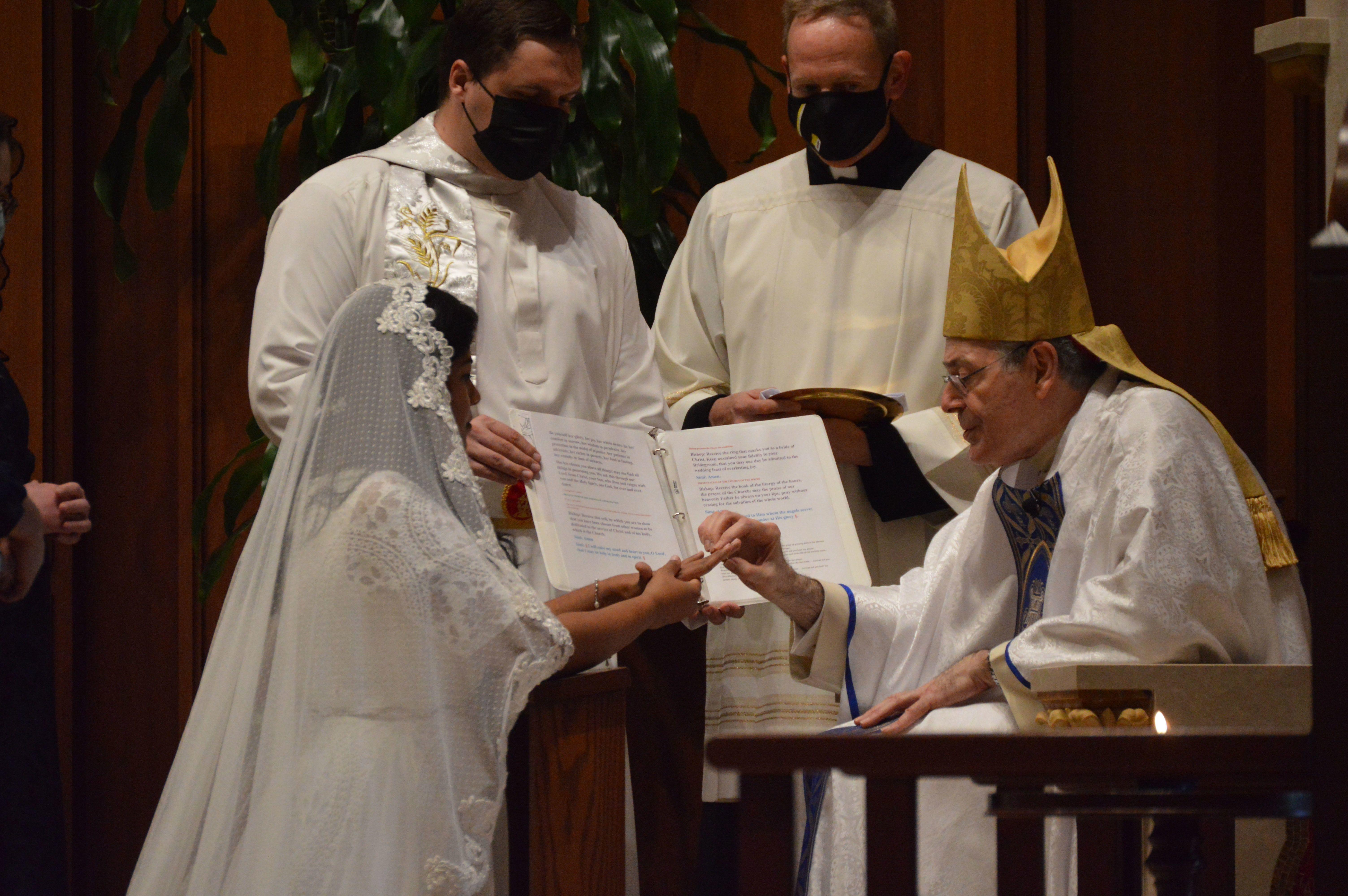 Dedicated to Jesus in virginity: Simi Sahu enters order of virgins living in the world